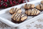 Coconut Dipped Cookies
