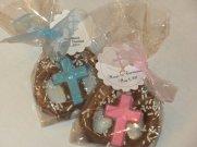 communion chocolate pretzels