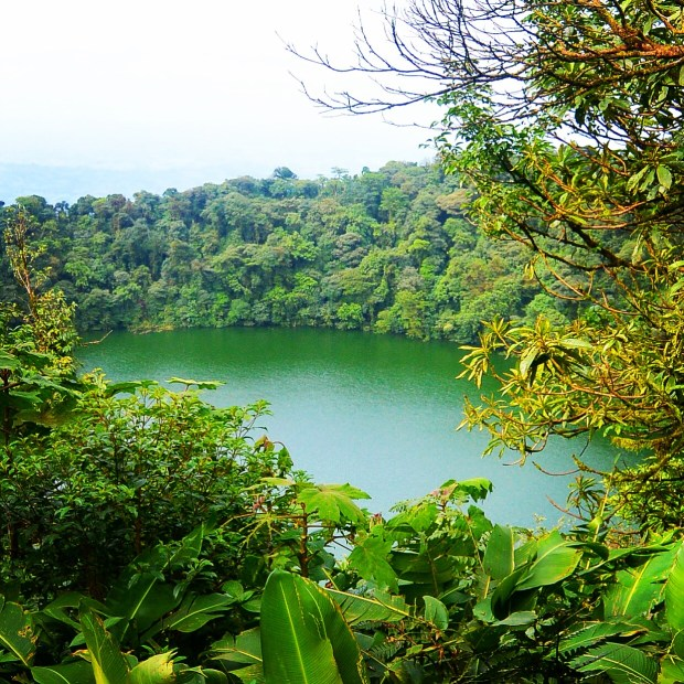 Chato's crater, Costa Rica