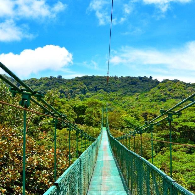 Hanging Bridges in Monteverde, Costa Rica