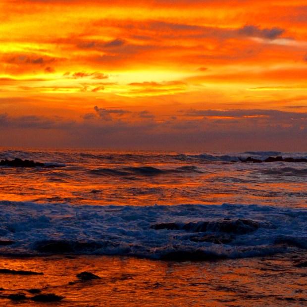 Sunset in Santa Teresa, Costa Rica