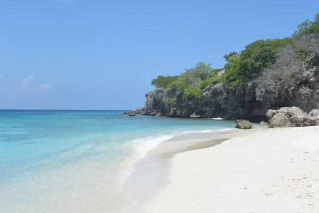 Beach in Curacao