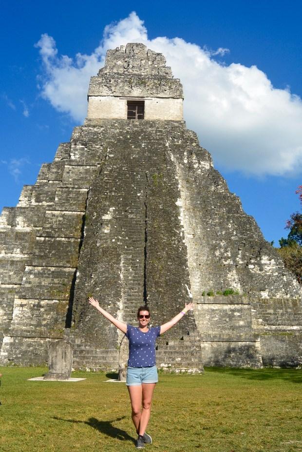 Ruins at Tikal