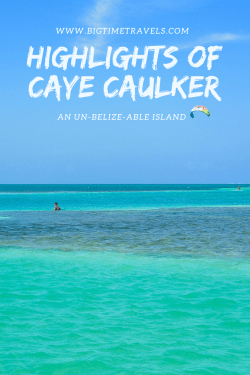 Caye Caulker is a tiny island off Belize's mainland. The Caribbean sea, palm trees and colourful buildings are just some of the highlights of Caye Caulker. Aside from the charm Caye Caulker emulates, it is also a fantastic spot to jump start your adventures under the sea. #CayeCaulker #Belize #CentralAmerica