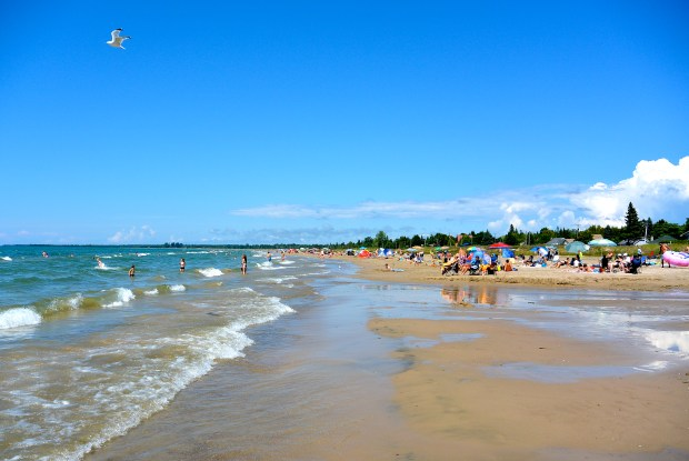 Sauble Beach Main Beach