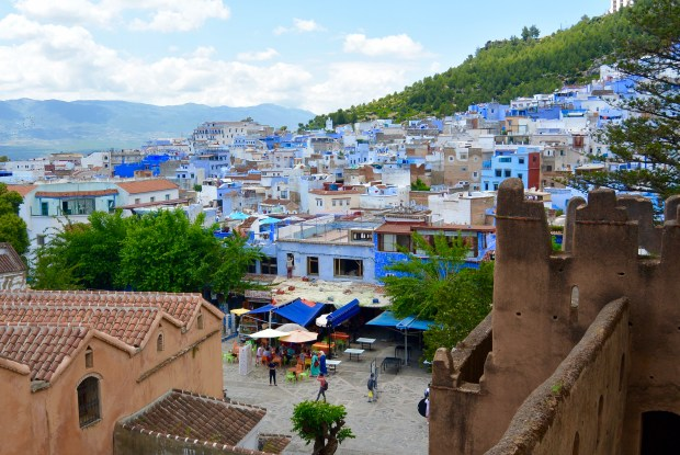 City view of Chefchaouen
