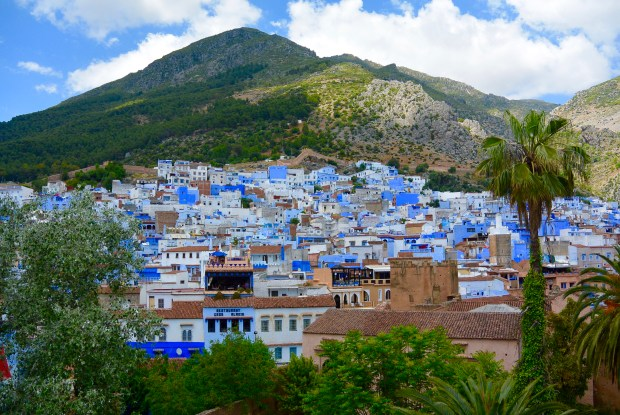 City views of Chefchaouen