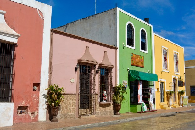 Town of Valladolid near Chichen Itza