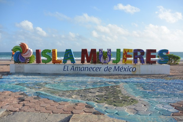 Isla Mujeres Sign