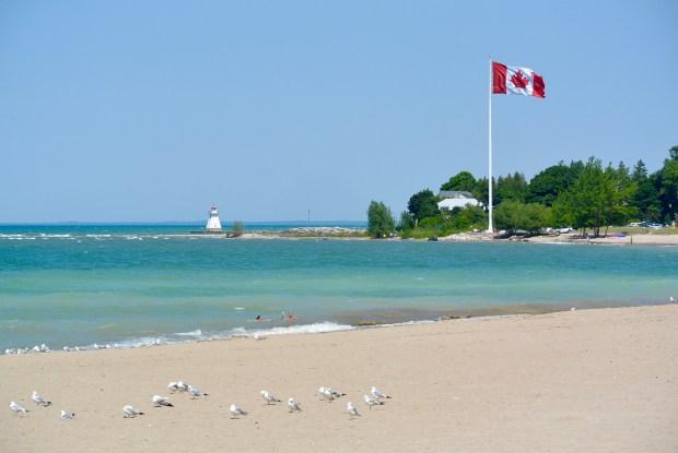 Beach in Southampton, Ontario