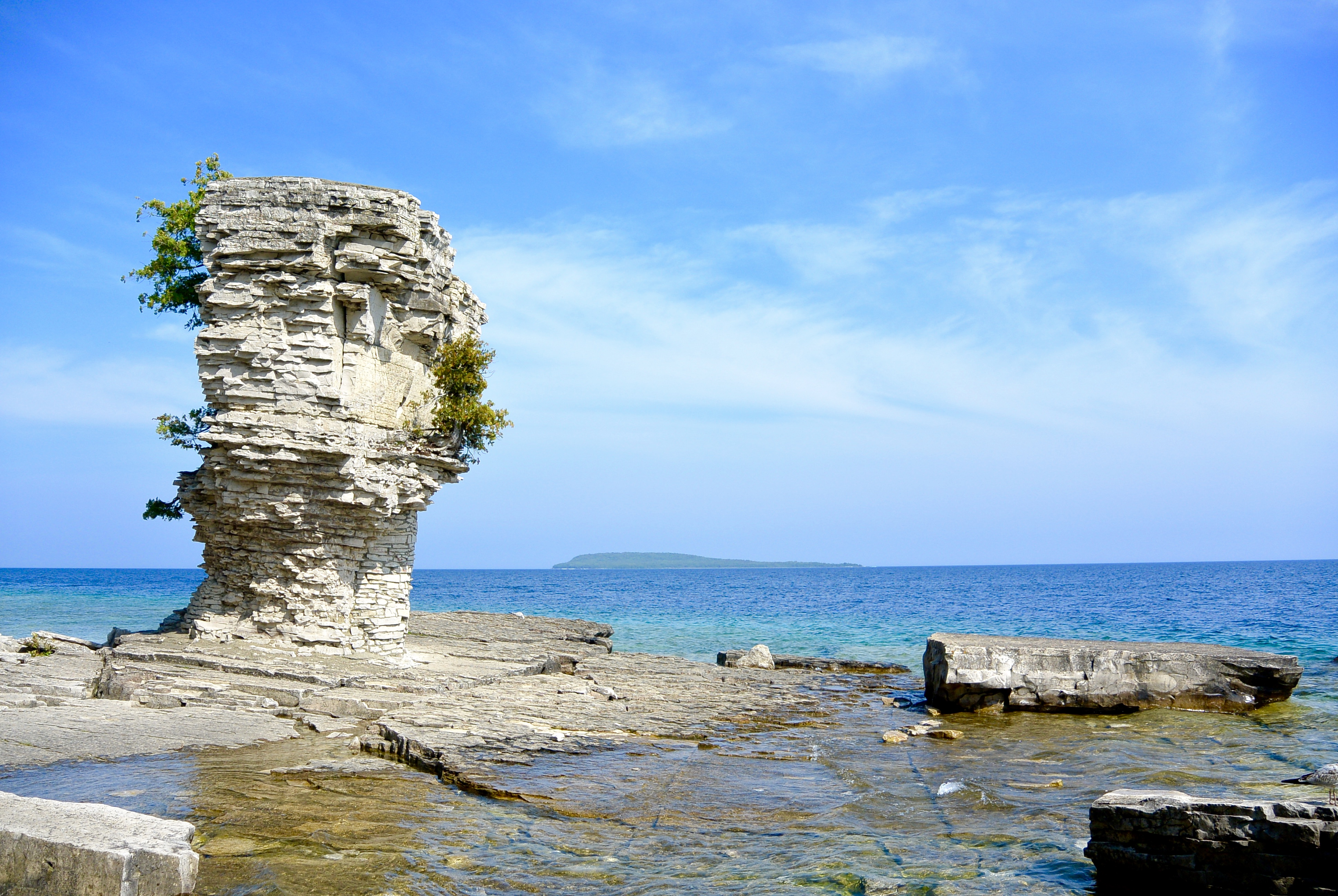 A Day Trip to Flowerpot Island: A Visitor's Guide
