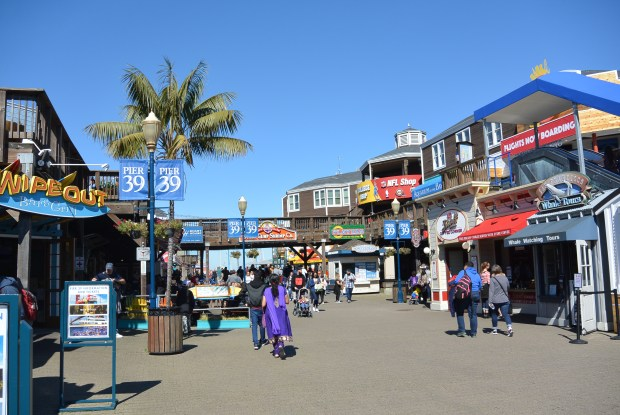 Fishermans Wharf in San Francisco