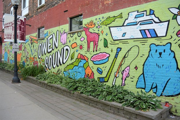 Downtown Owen Sound Mural