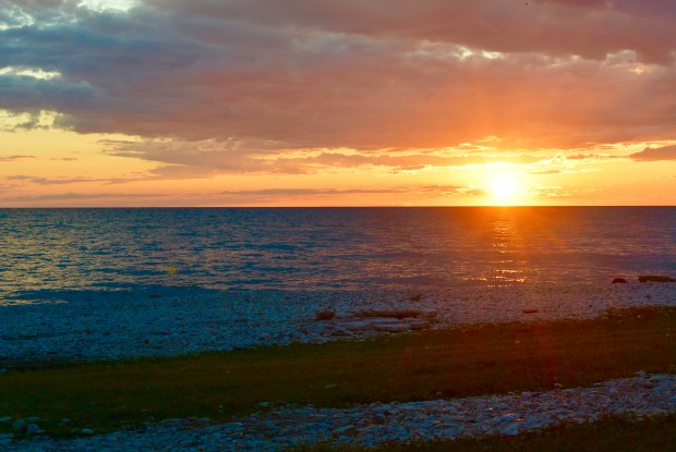 Sunsetting in Goderich