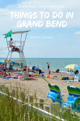 Things to do in Grand Bend Pin