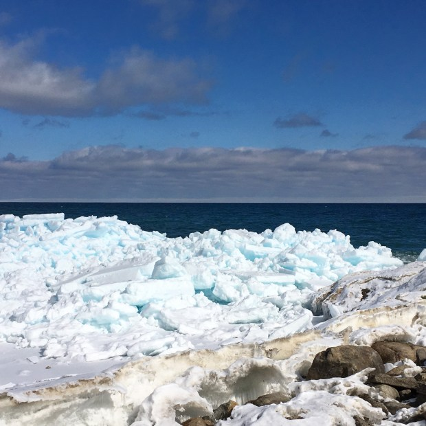 Blue Ice in Meaford