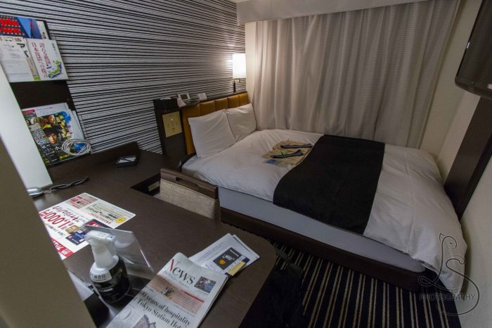 How to Plan an International Trip to Japan: Hotel Room in Tokyo
