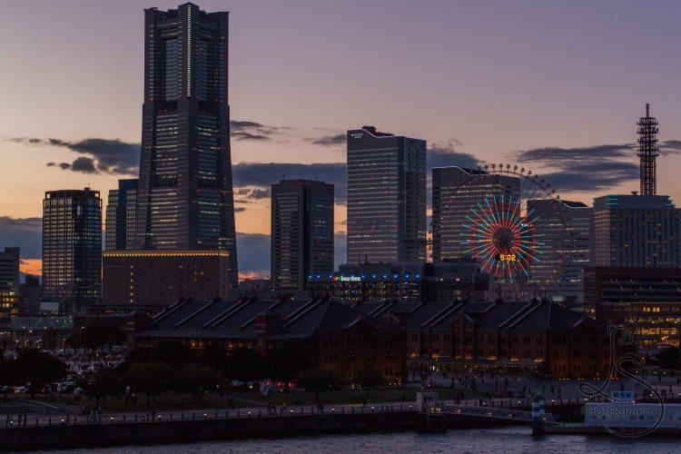 Yokohama Japan in Autumn