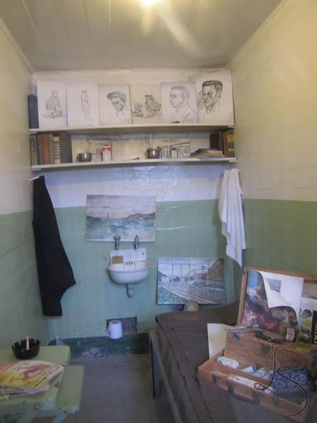 Staged Prison Cell Alcatraz