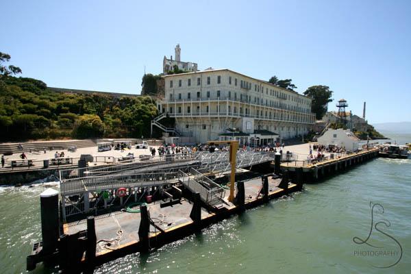 Arrival at Alcatraz