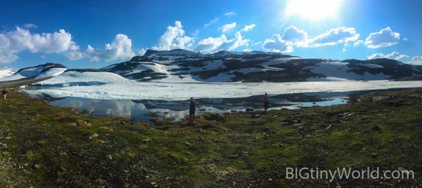Snowy Lake Norway