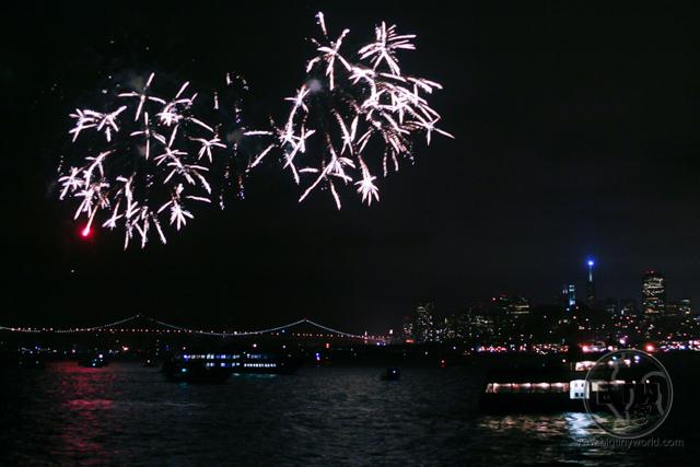 Fireworks over San Francisco Bay | BIG tiny World Travel