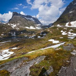 Norwegian Alpine Lake