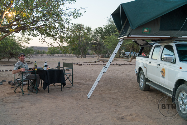 Aba Huab Campsite in Namibia