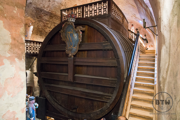 Worlds Largest Wine Barrel Heidelberg