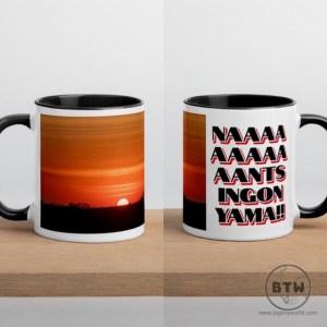 African sunrise Etsy mug