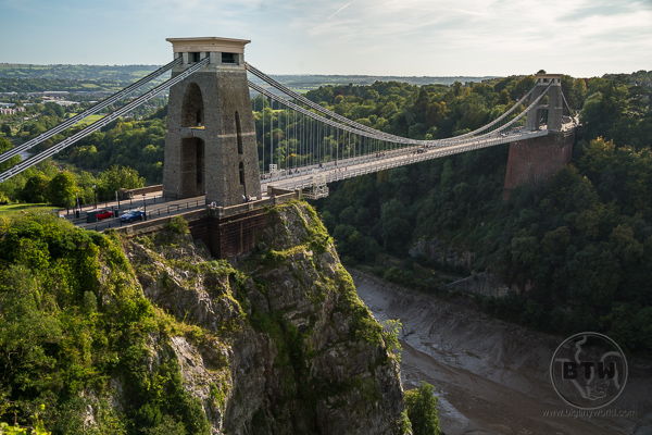 Clifton Suspension Bridge in Bristol UK