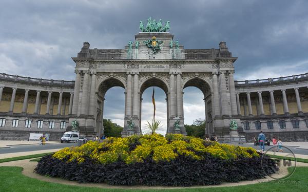 Belgium - Brussels Triumphal Arch