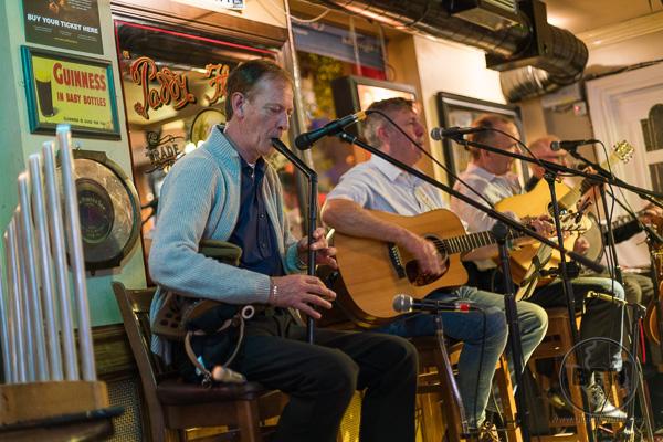 Darkey Kelly's Band Playing Traditional Irish Music