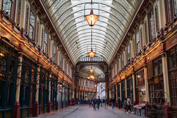 Leadenhall Market UK Harry Potter
