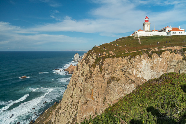 Cabo da Roca Portugal Westernmost Point of Europe Lighthouse