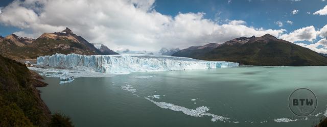 Perito Moreno Glacier Wide Landscape