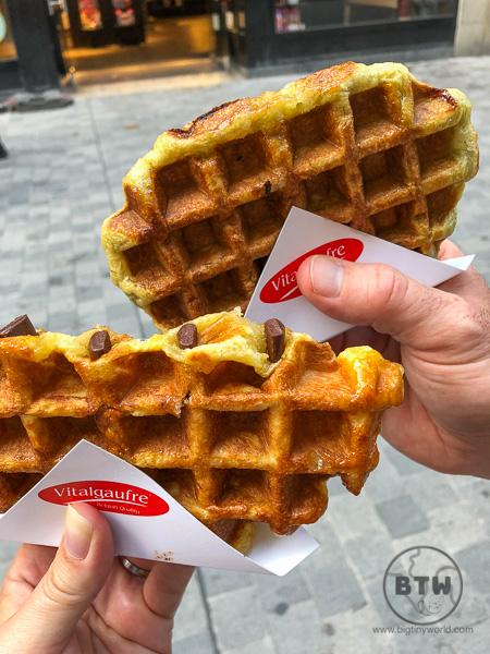 Liege Waffles - Belgian dessert