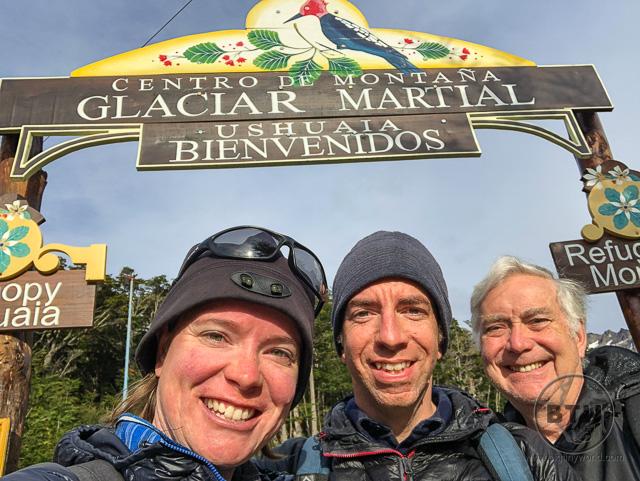 Martial Glacier trailhead