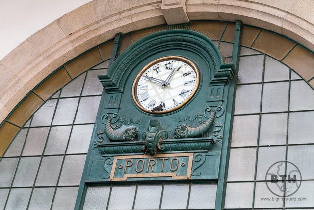 São Bento Railway Station Famous Clock