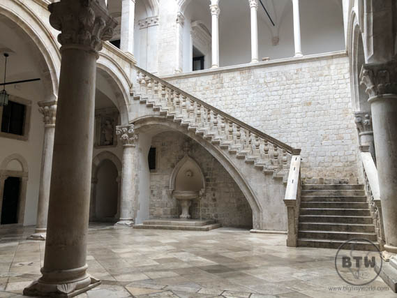 Rectors Palace Stairs Dubrovnik