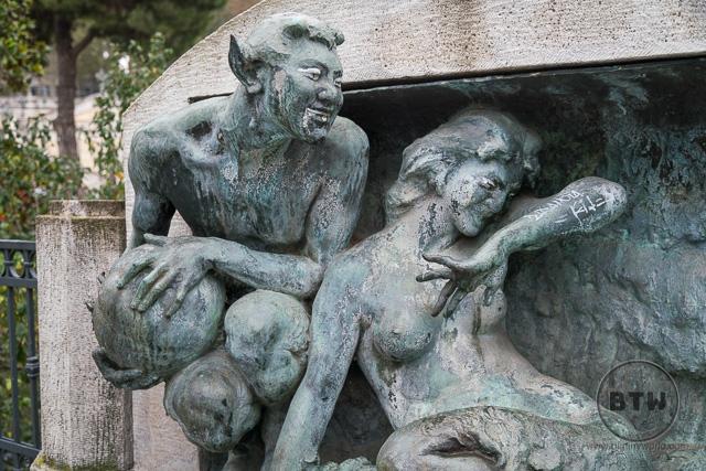 Statue in Bologna, Italy