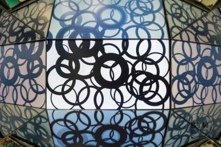 A prism illusion at the Illusion Museum in Zagreb, Croatia