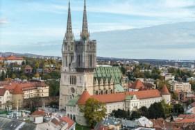 The Zagreb Cathedral, in Zagreb, Croatia