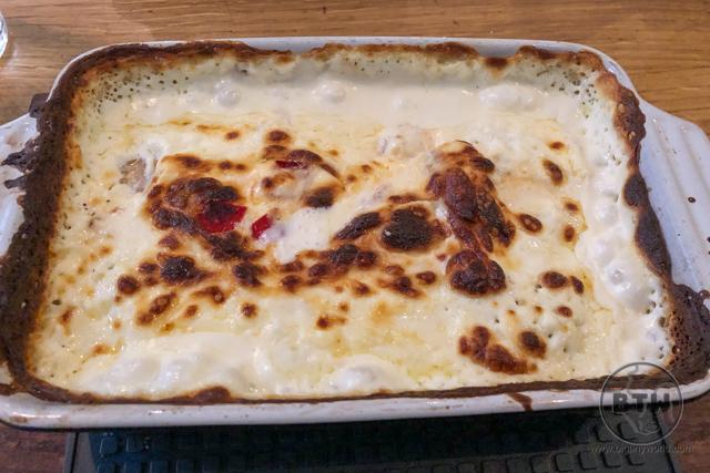 A cheesy dish in Zagreb, Croatia