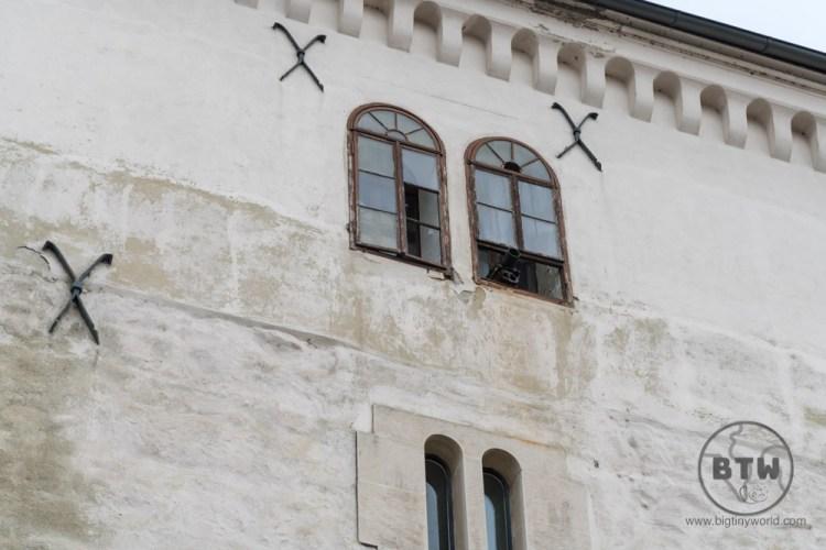 The Zagreb cannon in Zagreb, Croatia