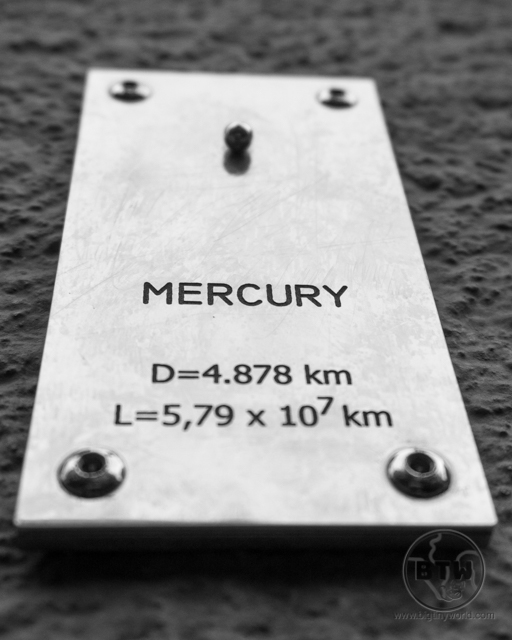A tiny Mercury representation in Zagreb, Croatia