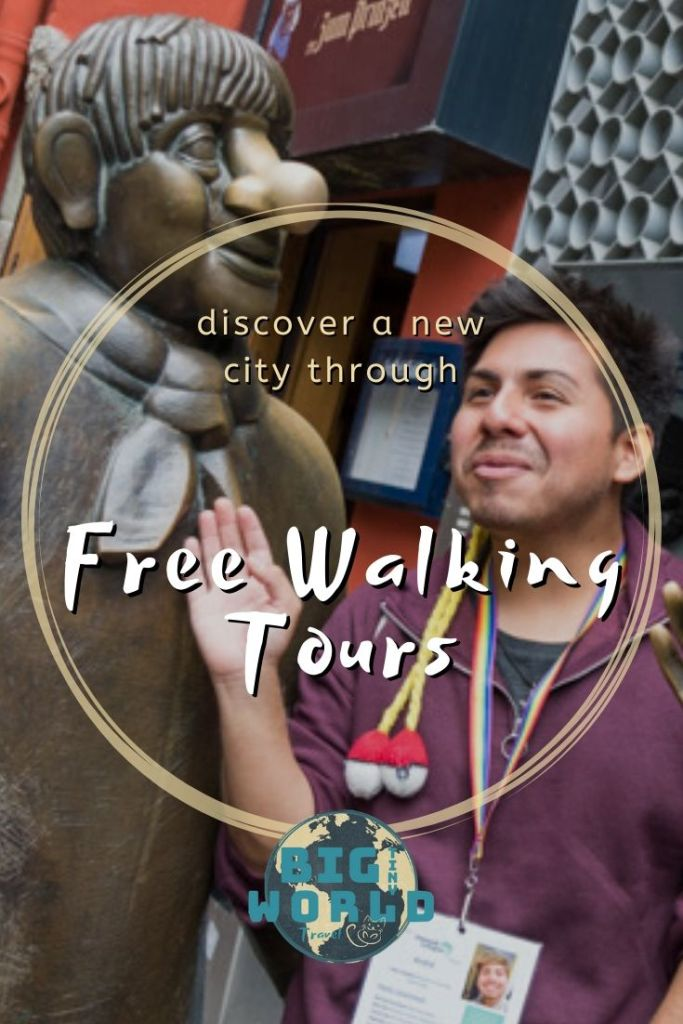 Discover a New City Through Free Walking Tours | Free walking tours are an excellent way to get to know a new city while traveling. Curious what they're all about?  We've got you covered! | BIG tiny World Travel | #bigtinyworld #walkingtours #europetravel #travel