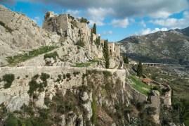 Klis fortress in Split, Croatia