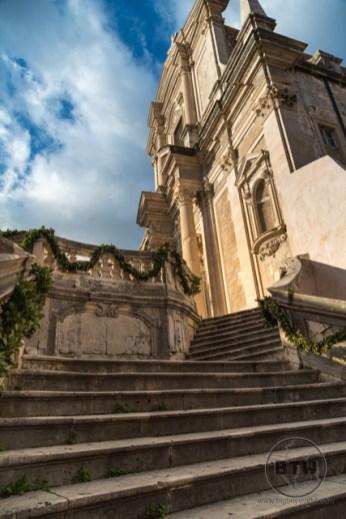 The Jesuit Stairs in Dubrovnik, Croatia