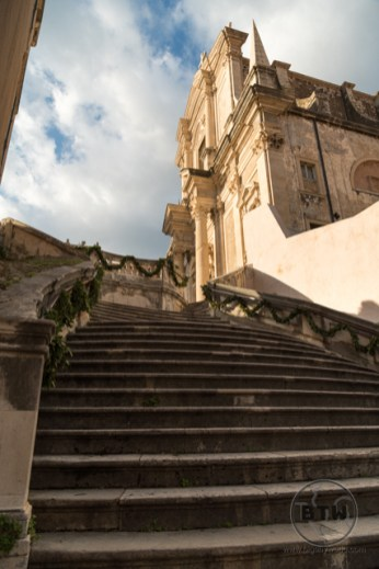 The St. Jesuit Stairs in Dubrovnik, Croatia